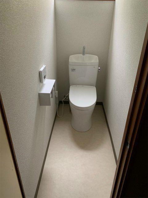 和式から洋式トイレ工事のご依頼