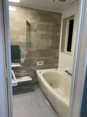 浴室工事完了