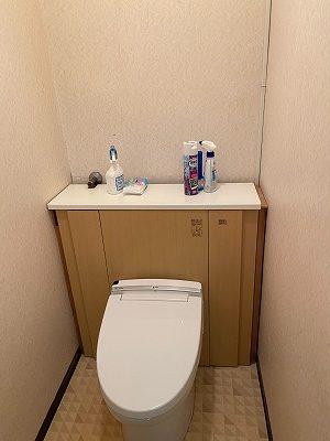 静岡市A様邸 トイレ工事他 施工Before写真