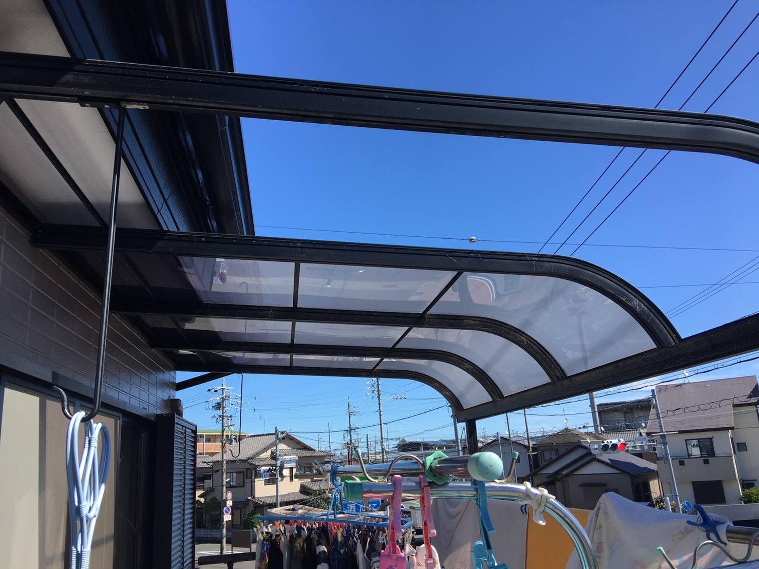 静岡市A様邸 カーポート・テラス工事