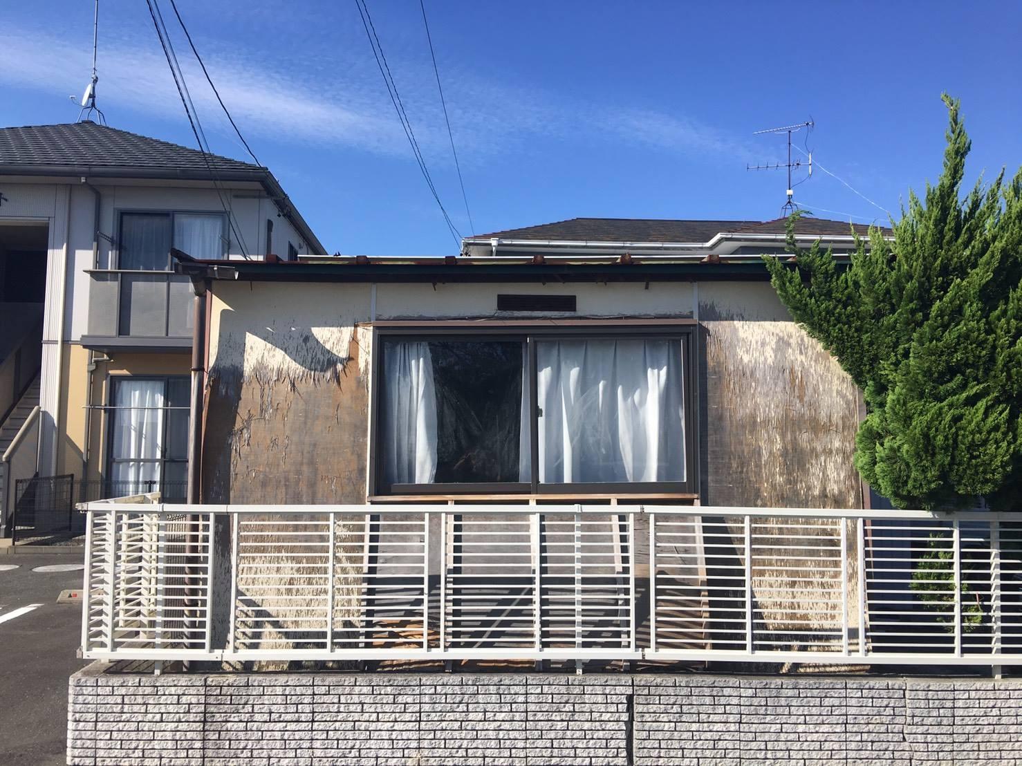 静岡市I様邸 小屋解体工事
