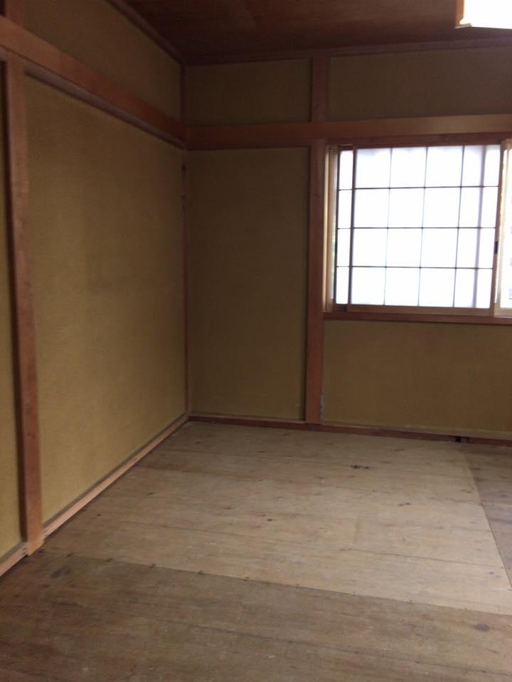 静岡市K様邸 和室壁クロス工事