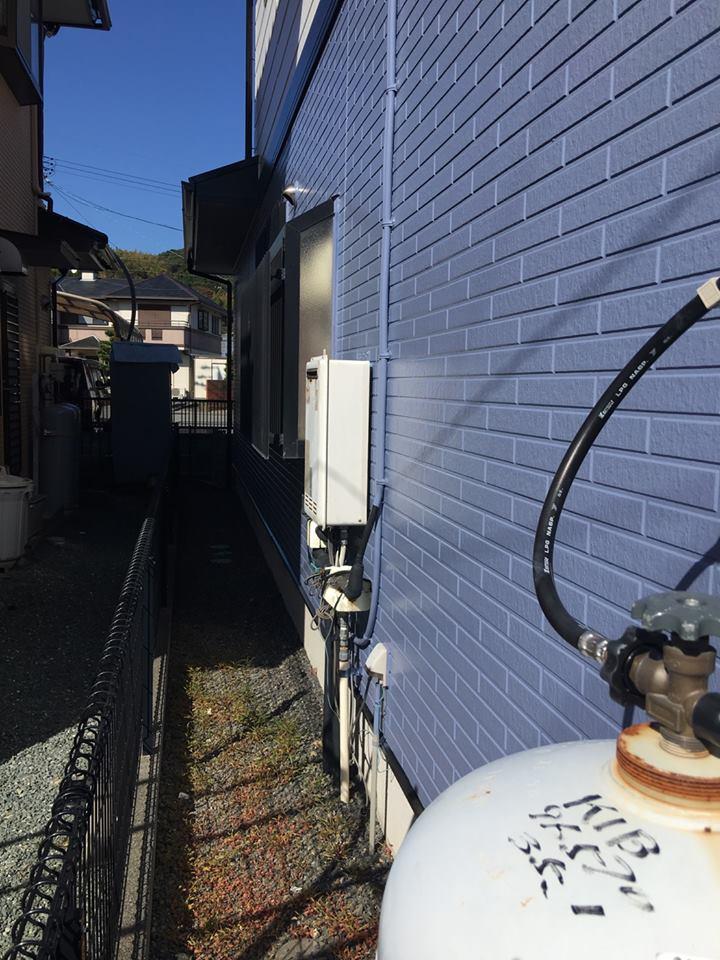 島田市T様邸 給湯器取替工事