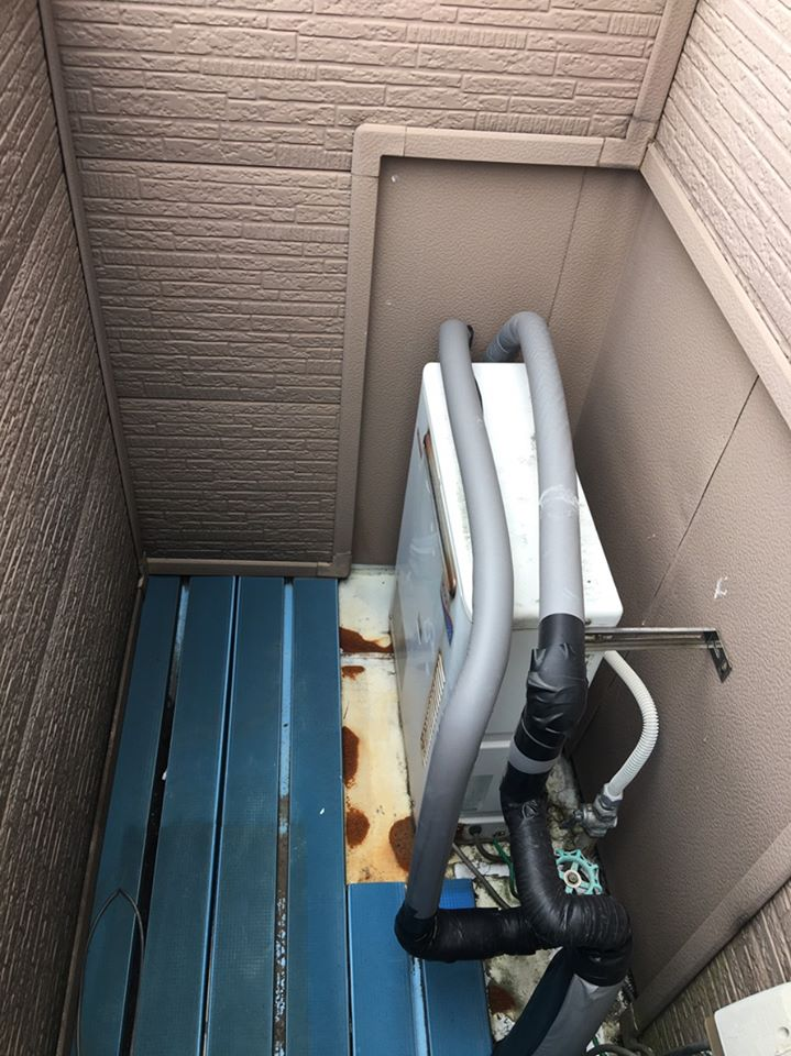 静岡市清水区S様邸 給湯器取替工事