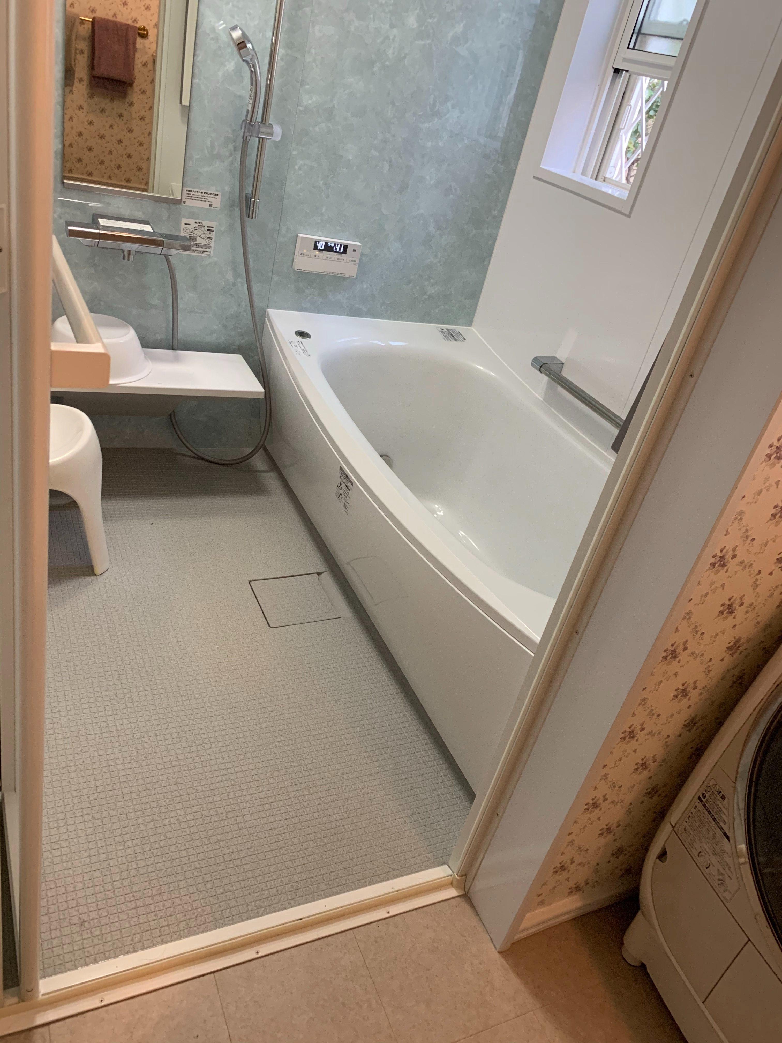 静岡市にてお風呂リフォーム無事工事完了