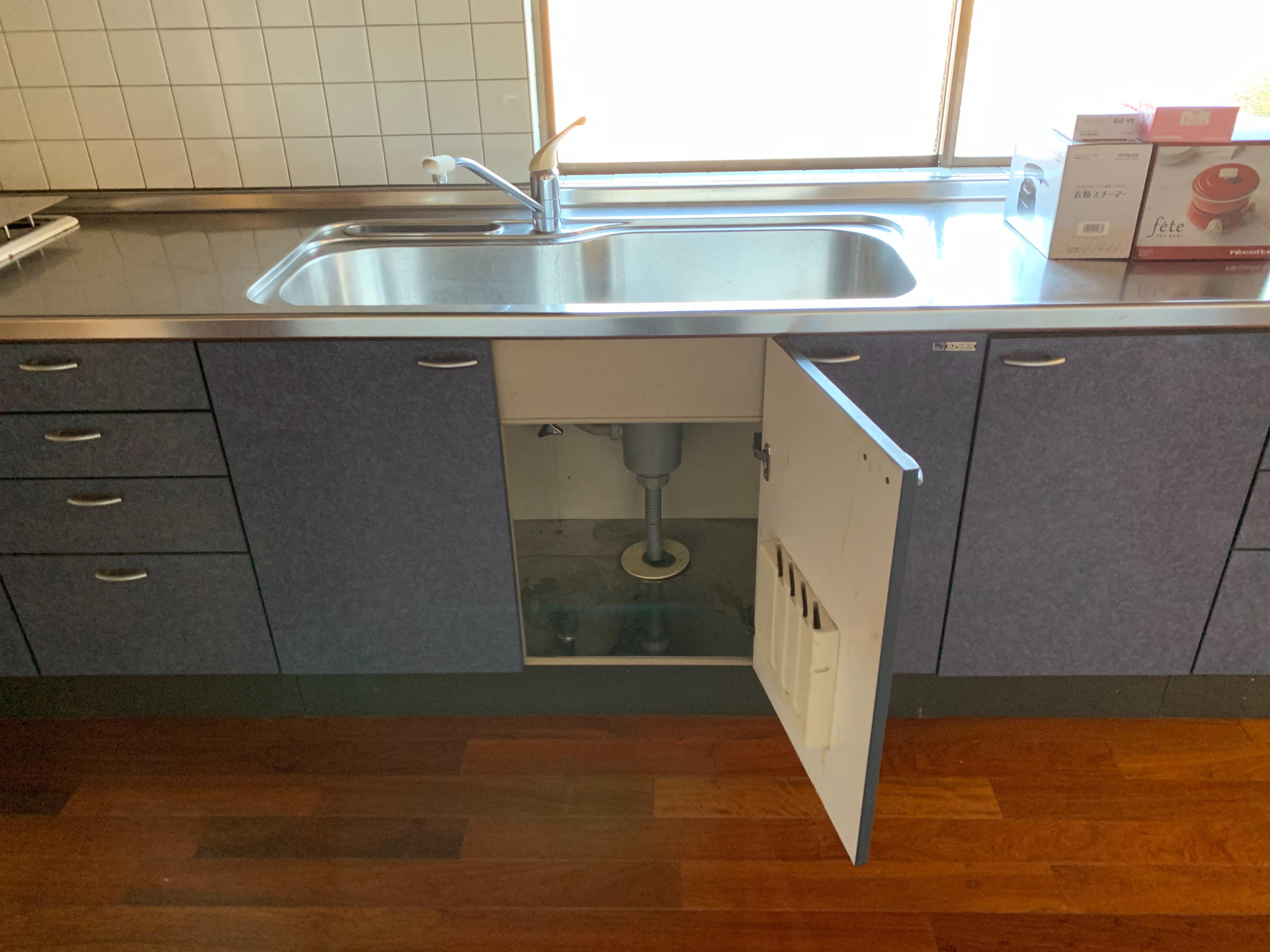 静岡市にて水栓・給湯器工事のご依頼