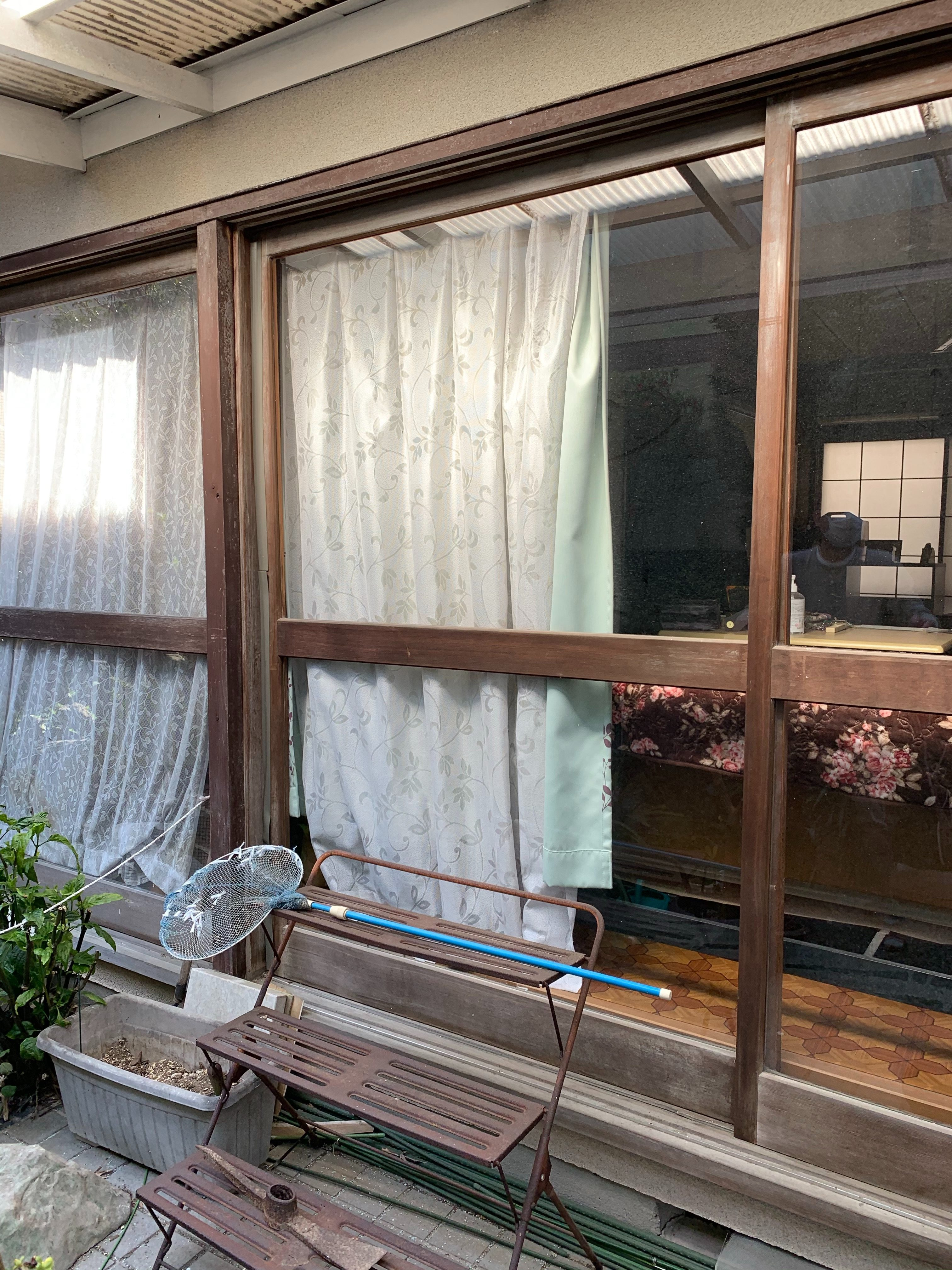 静岡市にて窓サッシ工事の現場調査のご依頼