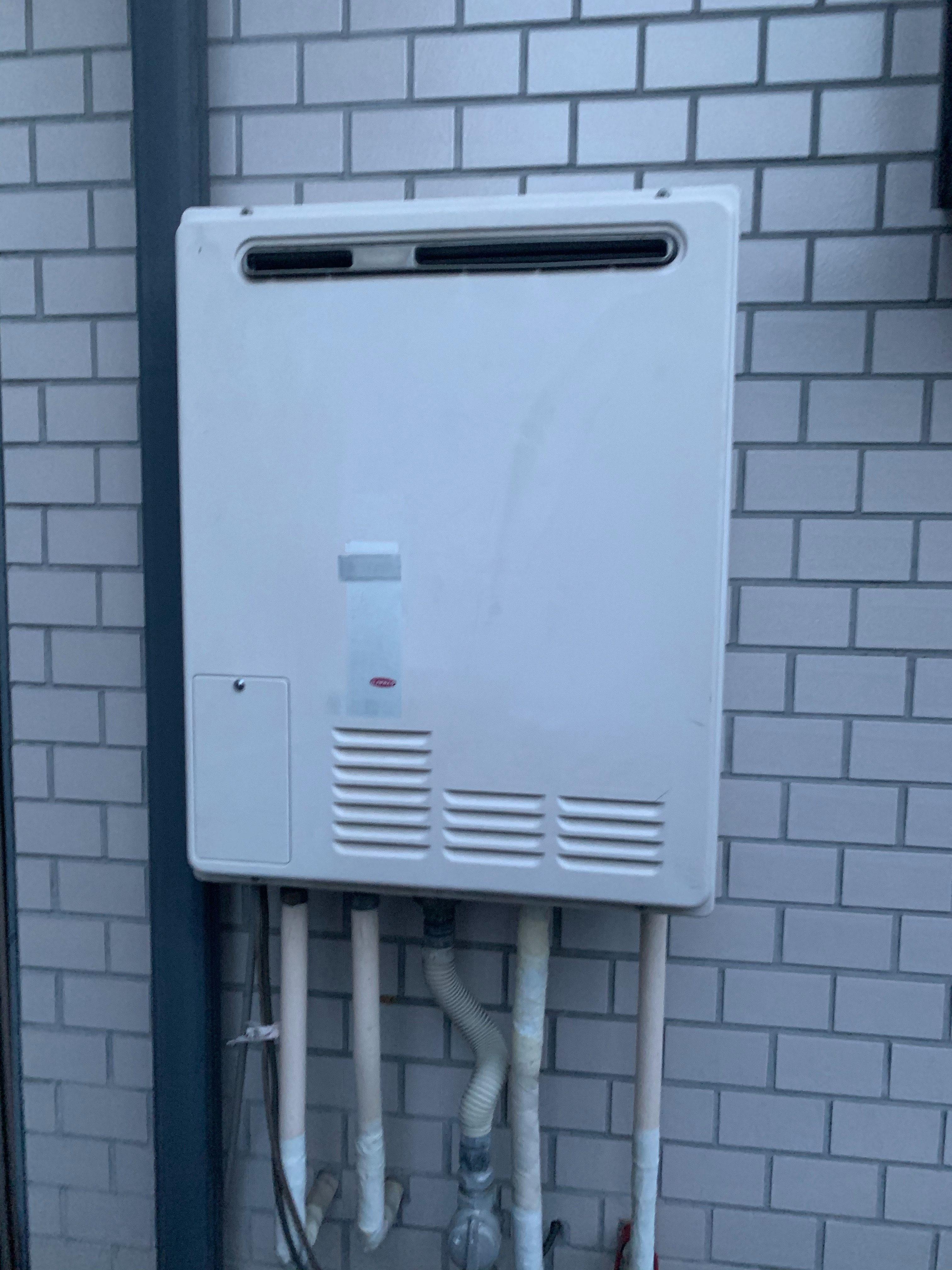 静岡市にて給湯器交換工事現場調査・工事のご依頼